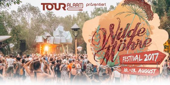 Touralarm präsentiert das Wilde Möhre Festival 2017